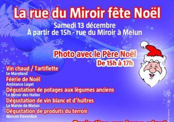 La rue du Miroir fête Noël le samedi 13 décembre !