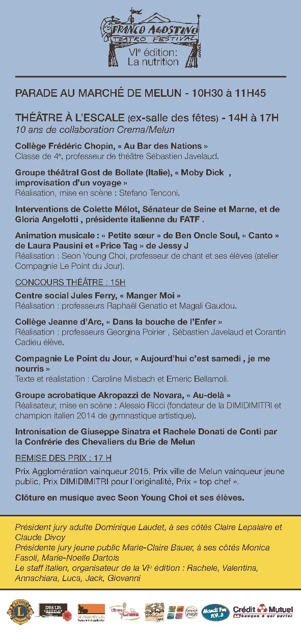 Festival Franco Agostino_programme