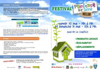Festival Printemps sur Seine, les 30 et 31 mai 2015