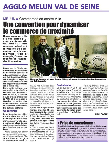 Revue De Presse Unicom Melun Commerces