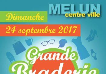 Grande Braderie Vide-greniers du dimanche 24 septembre 2017 en cœur de ville