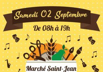 Nouvelle place, Nouveau marché St Jean le 2 septembre 2017