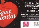JEU SAINT VALENTIN du 10 au 14 Février 2018 : LES COEURS GAGNANTS