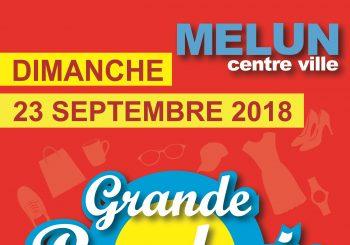 Grande Braderie Vide-greniers du dimanche 23 septembre 2018 en cœur de ville