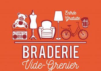 GRANDE BRADERIE VIDE-GRENIER le dimanche 22 Septembre 2019