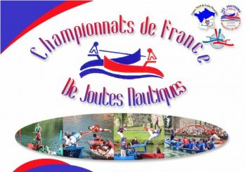 Championnats de France de joutes nautiques le samedi 31/08 et dimanche 01/09
