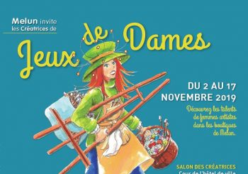 Melun invite Jeux de Dames du samedi 2 au dimanche 17 Novembre 2019