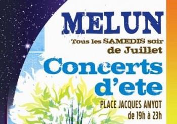 Concerts d'été tous les samedis soir de juillet 2015