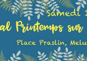 Festival Printemps sur Seine – Samedi 13 Mai 2017 – Place Praslin