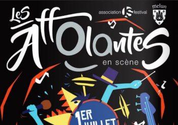 Festival Les Affolantes en scène le 1er juillet 2017 – Place St Jean