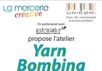 Yarn Bombing le samedi 20 Mai 2017 rue rené Pouteau